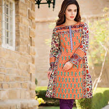 Latest Trends Of Summer Lawn Kurtis Designs Collection For Women 2015 2016 17
