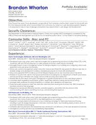 Resume Examples Objective Statement General Inspirational Objectives Of