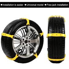 Car Snow Chains Snow Tire Chains For Most Cars Anti-slip Car Chains ...