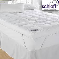 Stylish King Mattress Topper with Hotel Mattress Toppers Bed