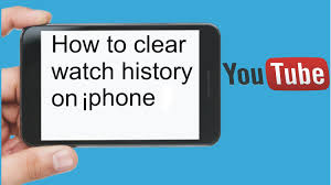How to clear watch history on iPhone iPod iPad