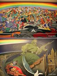 Denver International Airport Murals Removed by Denver Broncos Desktop Wallpaper Pale Horse Of The Apocalypse