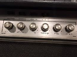 Ampeg V4 Cabinet For Bass by For Sale Early Ampeg V4 W Upgraded B25 Cabinet Talkbass Com