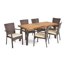 Kissena 7 Piece Teak Dining Set & Reviews | Joss & Main Danish Mondern Johannes Norgaard Teak Ding Chairs With Bold Tables And Singapore Sets Originals Table 4 Uldum Feb 17 2019 1960s 6 By Greaves Thomas Mcm Teak Table Niels Moller Chairs Etsy Mid Century By G Plan Round Ding Real 8 Seater Jamaica Set Temple Webster Nisha Fniture Sheesham Wooden Balcony Vintage Of 244003 Vidaxl Nine Piece Massive Chair On Retro