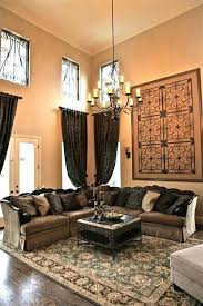 Tall Wall Decor Decorating A Large With High Ceiling Com Art Ideas