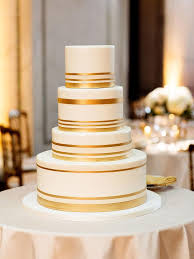 Make a simple wedding cake style look elegantly sophisticated with