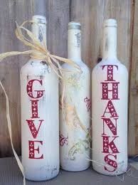 Decorative Wine Bottles Crafts by Amazingly Falltastic Thanksgiving Crafts For Adults Painted