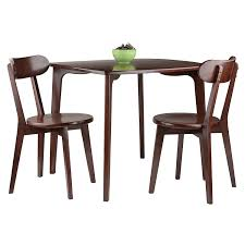 Amazon.com - Pauline 3-PC Set Dining Table With 2 Chairs ...