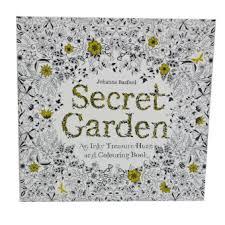 Secret Garden Coloring Book2 In 1