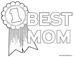 Download Mothers Day Coloring Pages