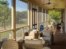 Screened In Porch Decorating Ideas by Screen Porch Decorating Ideas Porch Traditional With Bark Mulch