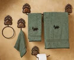 Rustic Bath Towel Sets by Rustic Towel Bars And Lodge Bathroom Accessories