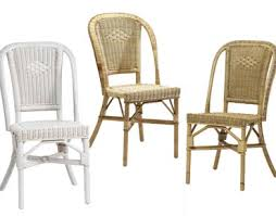 chaises en osier chaise essentiel rotin grand pere