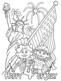 Printable Summer Coloring Pages Festive Fourth Of July Via Parents