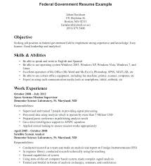 Sample Government Resume Manager Wonderful For Job Template Project