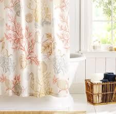 Pottery Barn Sea Glass Bathroom Accessories by Best 25 Beach Shower Curtains Ideas On Pinterest Paul The