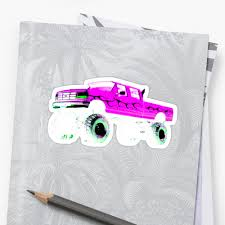 1997 Ford F350 XLT MONSTER TRUCK PINK