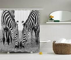 Zebra Print Bathroom Decor by Zebra Print Room Decor Amazon Com