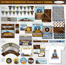 Monster Truck Party Printables An Eventful Party Monster Truck 5th Birthday Ideas Moms Munchkins Amazoncom Costume Supcenter Bbkit1057 Blaze And The Real Parties Modern Hostess Trucks Dinner Plates Orientaltradingcom 38 Plates Invitation Best 25 Truck Birthday Cake Ideas On Pinterest Colors Free Printables With Jam Supplies Invitations 8 Toys Games Colorful Cboard Trucks Jacobs Party Theme Machines