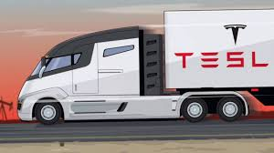 100 Semi Truck Interior AWESOME Tesla Inside View YouTube
