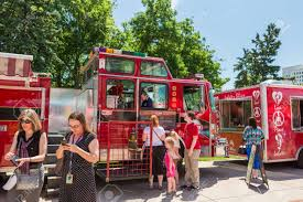 Denver, Colorado, USA-June 9, 2016. Food Trucks At The Civic.. Stock ... Free The Food Trucks Manna From Heaven Gourmet Food Truck Pin By Bites Donuts On Sweet Trucks Trailers Pinterest Denver Lovely Animal Grid Branding By Elisa Og Burgers Street Frites Mobile Eatery Roaming Hunger A Look At The King Of Wings Food Truck Yelp Massive Park Beer Garden And Climbing Gym Is Opening North Hill Colorado Trucks Stapleton Moving Festival Rolling Through This Summer Gyros King Rock N Lobster Roll Twitter Join Us Epicbrewingden In An Hour