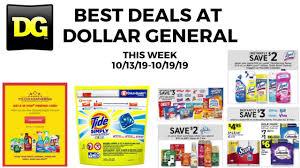 Best Deals At Dollar General This Week 10/13-10/19/19 Instant Savings And  Rebates