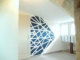 peinture mur chambre décoration chambre peinture murale d par contemporain d