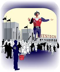 Download Texas State Fair With Big Tex Stock Illustration
