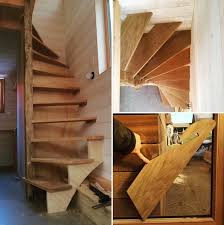 Tiny House Spiral Staircase La With Smart To Loft