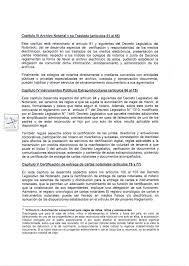 Carta Poder Ante Un Notario