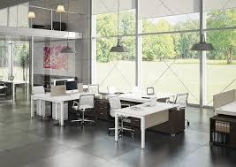 100 Contemporary Gate Workstation Desk Wooden Steel Contemporary GATE Bralco