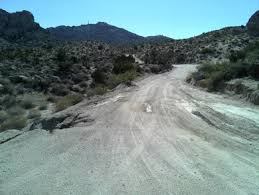 Christmas Tree Pass Road Approved 20 Is A Very Scenic Drive On Spirit Mountain Near Laughlin Nevada In USA The Gravel