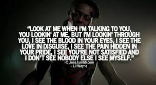 Mirror Lil Wayne And Quote Image