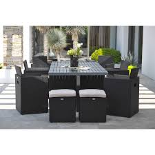 tables de jardin en resine table jardin resine tressee salon de jardin 2 places maisonjoffrois