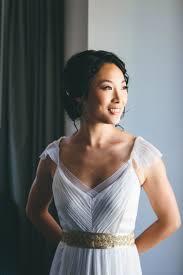 Saja Wedding Dress For A Contemporary Eco Friendly Los Angeles