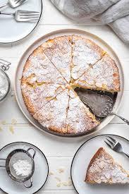 mandelkuchen mit ricotta und zitrone ohne mehl