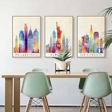 3pcs kunst wandbilder kunstdruck wohnzimmer schlaftzimmer