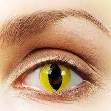 cat contacts yellow cat eye contacts yellow cat eye contact lenses rainbow