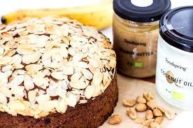 erdnussbutter bananen kuchen ohne zucker
