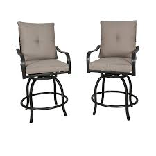 Ulax Furniture Outdoor 2-Piece Counter Height Swivel Bar Stools High Patio  Dining Chair Set Phi Villa Height Swivel Bar Stools With Arms Patio Winsome Stacking Chairs Awesome Space Heater Hinreisend Fniture Table Freedom Outdoor 51 High Ding 5 Piece Set Accsories Ashley Homestore Hanover Montclair 5piece Highding In Country Cork With 4 And A 33in Counterheight Tall Ideas Get The Right For Trex Premium Sets Shop At The Store Top 30 Fine And Counter