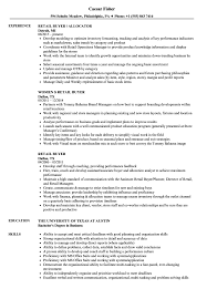 Retail Buyer Resume Examples Briliant Furniture Store Manager Sample
