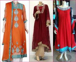 Latest Fashion In Pakistan 2012 For Eid Patterns Images Book Hand Dresses Kids