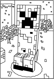 Jack Printable Minecraft Creeper Coloring Pages