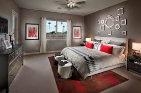 Red Can Be Used With Class In The Bedroom When Done Right Design