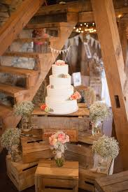 Wooden Crate Cake Stand