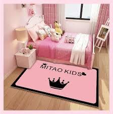 3d rosa prinzessin teppich kinder zimmer schlafzimmer mädchen zimmer bereich teppiche nordic wohnzimmer große teppich hause dekorative boden