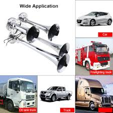 150DB 12V 24V Car Auto Truck Four 4 Trumpet Alloy Chrome Loud Train ... Universal Fourtrumpet Air Train Horn Kit For Cartruckboat Truck Kit Two Trumpet 110 Psi 12v Dc Compressor Pssure Pair Loud 2 Big Rig Semi Air Horns Viair 150psi Sale Hornblasters Train Horn Install Truckin Magazine 12v Chrome Dual Trumpet Compressor Car Boat Wolo Mfg Corp Air Horns Horn Accsories Comprresors Lumiparty 178db Super Fort Double Trompette Voiture Azir 135db With Two Trumpets And Unique Bargains Sliver Tone Metal Lond Sound 3trumpet 150db 24v Auto Four 4 Alloy Tone Of Texas