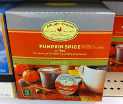 Keurig Pumpkin Spice Coffee Nutrition by Archer Farms Pumpkin Spice Coffee Single Cups Single Serve Coffee