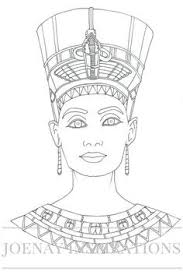 Egypt Coloring Pages Crayola Photo Playing Senet Pinterest Pictures And Cleopatra