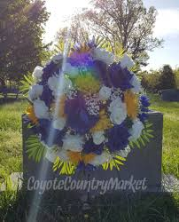 Memorial Day Graveside Decorations by Memorial Flowers Cemetery Flowers Tombstone Flowers Grave